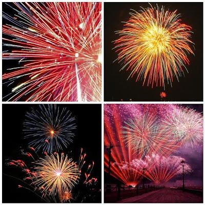 Mosaico: Fogos de Artifício