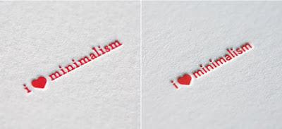 I ♥ Minimalism