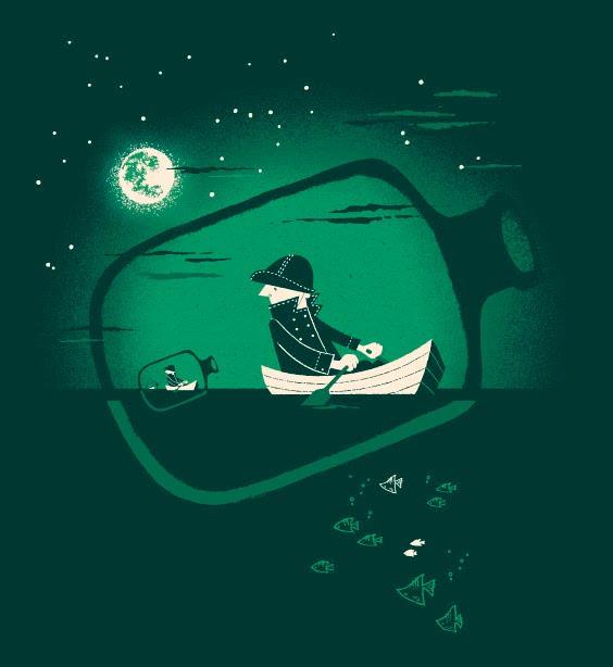 Ilustração por Esther Aarts