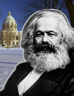 Karl Marx will NOT be at the Tax Cut Coalition Rally, April 14, 2007