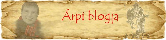 Árpi blogja