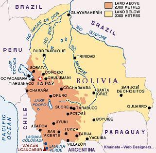 Tormentas y ciudades tormentas sobre la paz bolivia for Donde queda santa cruz