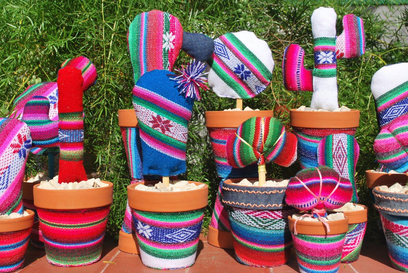 Mis 7 colores cactus - Macetas de colores ...