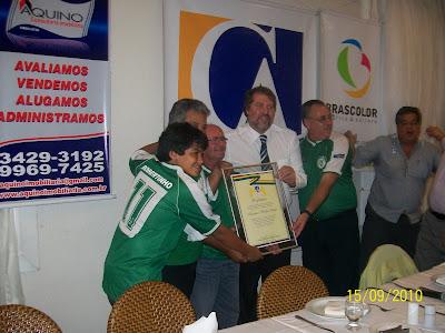 América Futebol Clube recebe homenagem no Caxangá Ágape