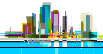 urban sky line