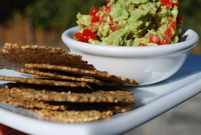 Paleo Chips and Avocado Salsa