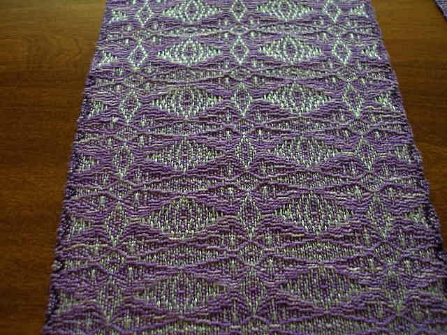 Beading a Handwoven Scarf Fringe