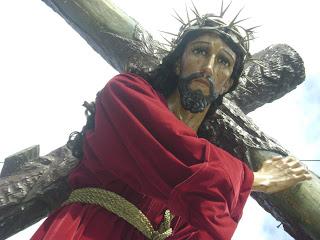 ´jesús, nazareno, nazaret, cruz, cuestas, día, tunica, corinta