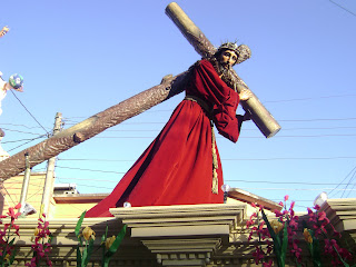 nazareno, cruz, cuesta, tunica, corinta, procesión, procesiones, ciudad, guatemala, quinto, domingo, quinta, semana
