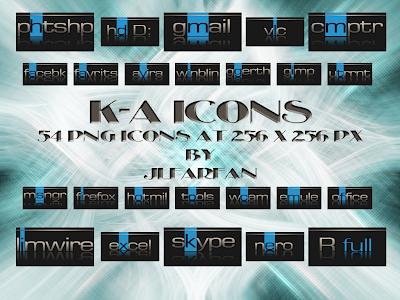 K A iconos rocketdock objectdock pepua personalizacion