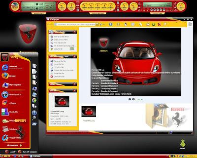 Plantilla de Windowblinds Ferrari - Personalizacion