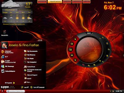 Windowsblind, Iconpackager, Logon Studio, Windows Media Player , Iconos para Rocketdock u Objecdock - Personalizacion