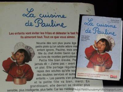 La cuisine de Pauline (Les livres de cuisine de Myrtille)