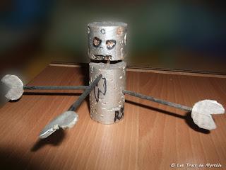 La fabrication de robots-bouchons