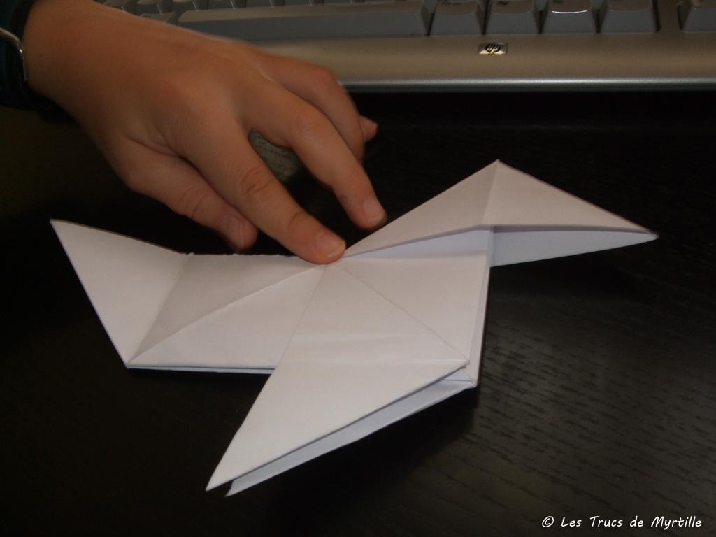 Les trucs de myrtille faire une cocotte en papier origami - Fabriquer une cocotte en papier ...