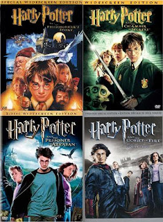 Harry Potter movie covers
