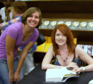 Me and Richelle Mead