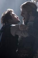 Edward attacking James