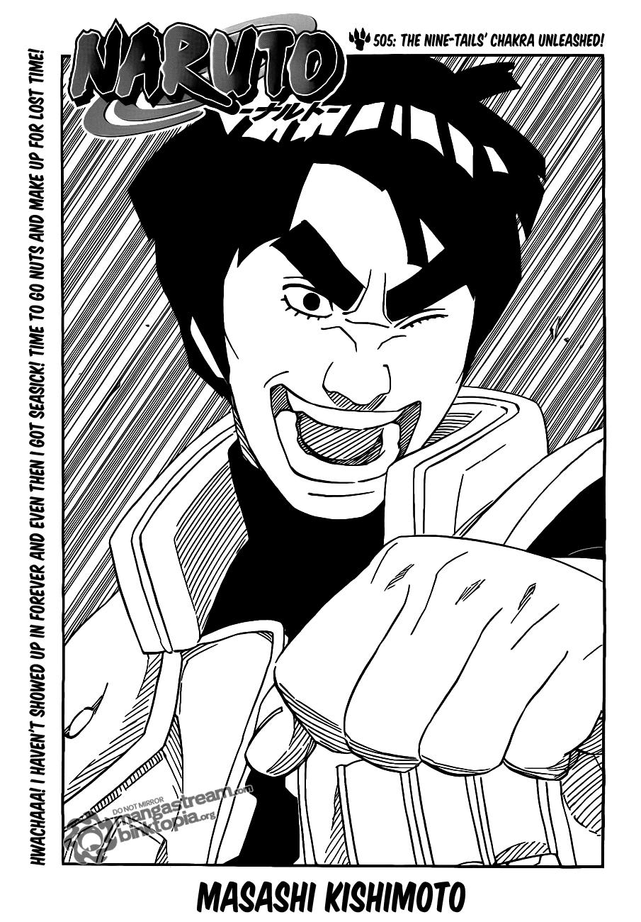 Download Naruto Manga Chapter 505 (.zip)