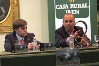 Juan Ramón Romero durante su intervención