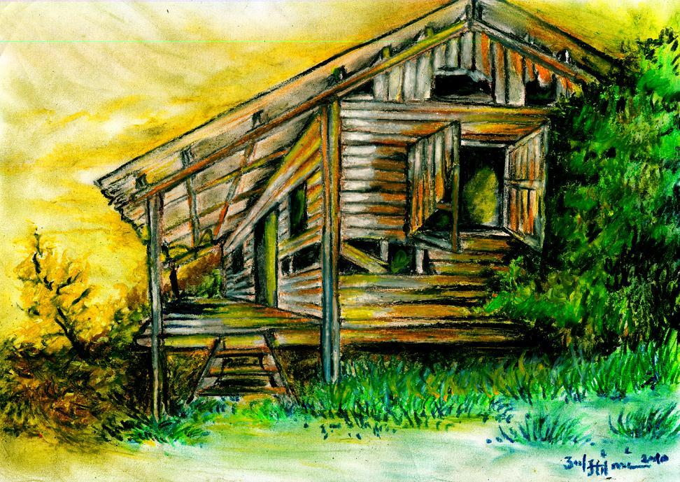 Gambar Lukisan Rumah | picturerumahminimalis.com