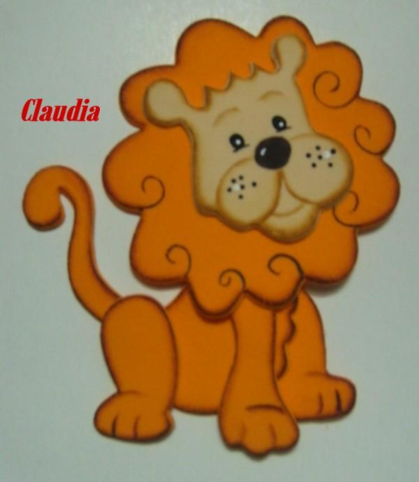 Imágen de un león en foami - Imagui