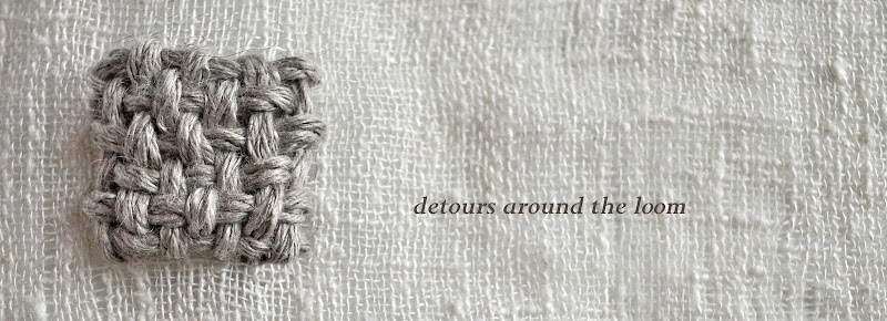 detours around the loom