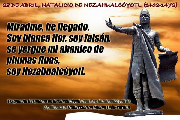 Poema De Nezahualcoyotl