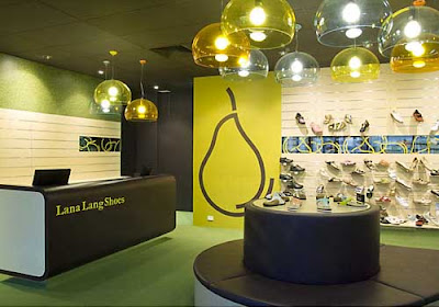 Lana Lang Shoe Store With Round Designs
