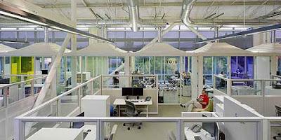 Interior of Google Headquarters