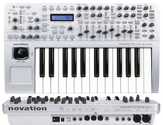 M-Audio and Evolution, the Novation Remote 25 Audio