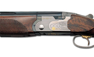 Beretta 682 gold E trap shotgun