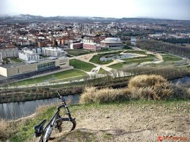 Circunvalar Logroño subiendo a sus cimas- -BTT