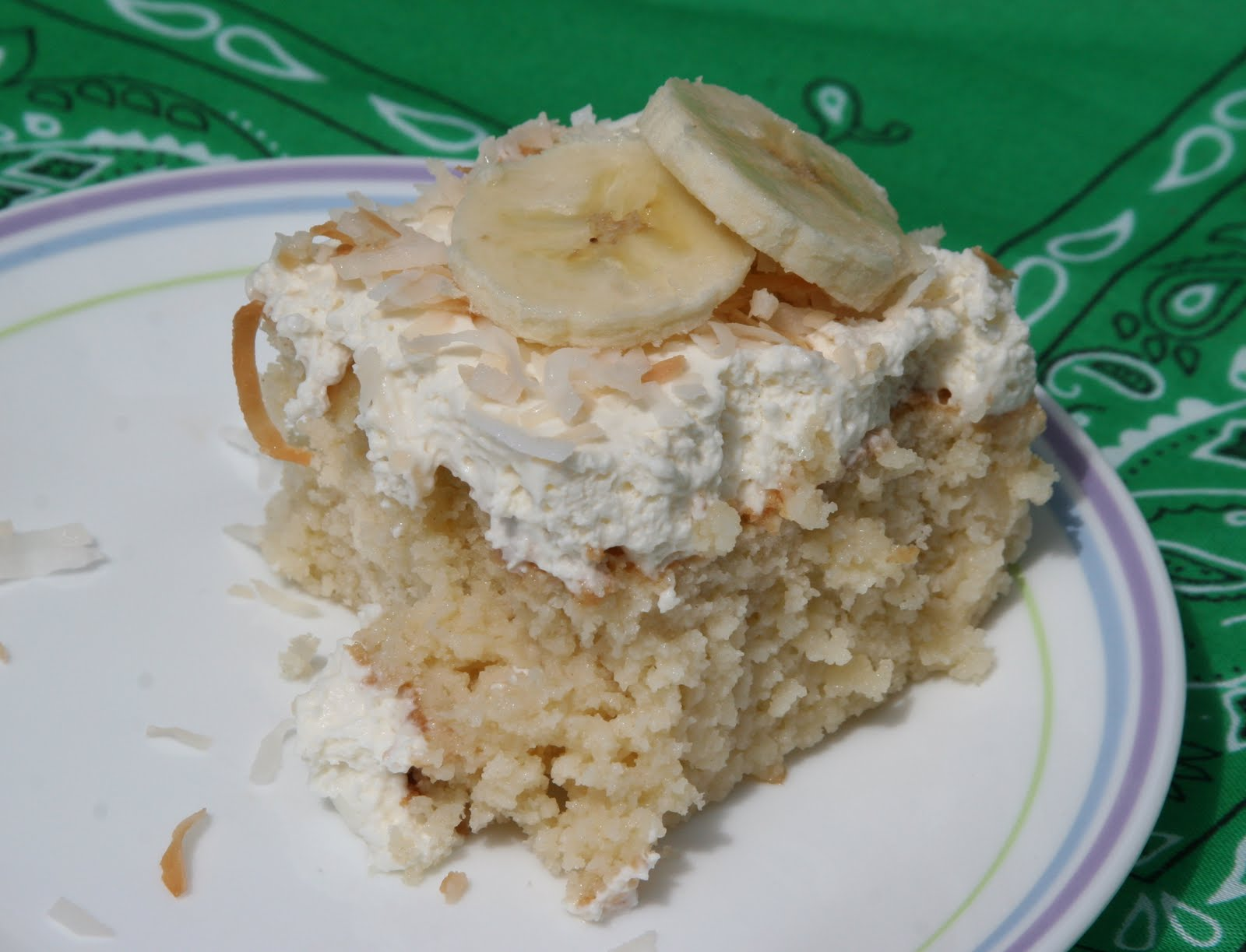 Taste Tempters: Coconut Tres Leches Cake