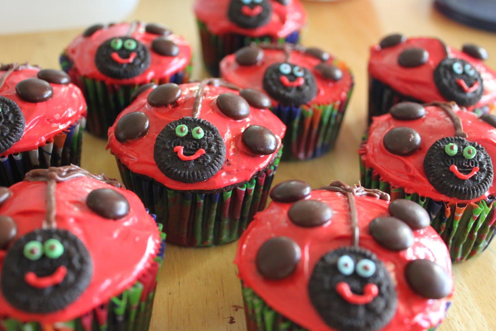 Ladybug Cupcake Liners