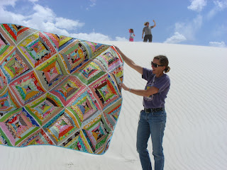 string quilt White Sands National Monument