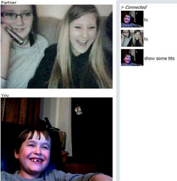 Troll funny chatroulette omegle chatpig and bazoocam captures