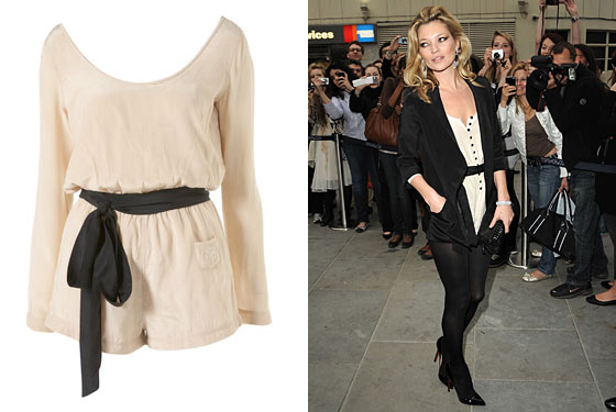 kate moss style blog. Kate Moss launched her
