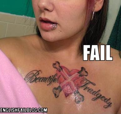 Re: Street Fighter Tattoo - Fail or Not?