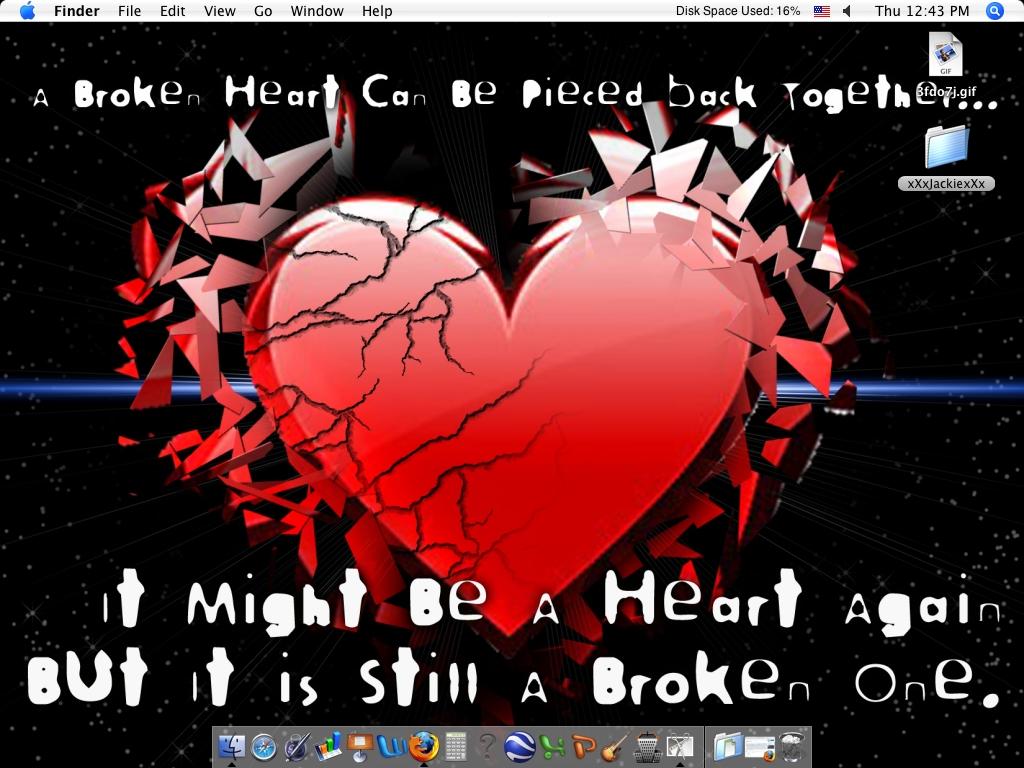 Emo Heart Wallpaper