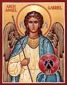 Saint Gabriel the Archangel and Messenger of the Lord