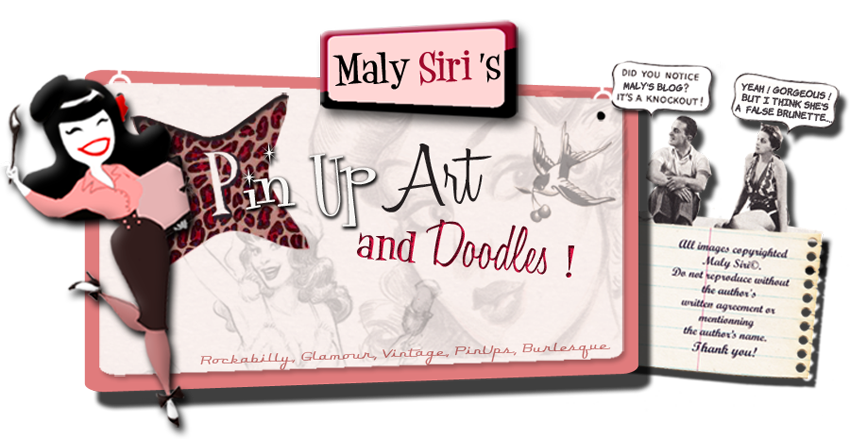 Maly Siri's PIN UP ART !- OFFICIAL PAGE