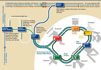 Plan De New York Carte De New York Plan De Manhattan Plan De Metro New York Plan De Brooklyn Plan De Jfk Airport A New York