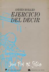 EJERCICIO DEL DECIR