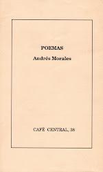 """POEMAS. ANDRÉS MORALES"""