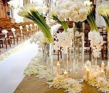 White Calla Lily Wedding