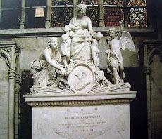 Monumen PJ Triest di Katedral Brussel Belgia