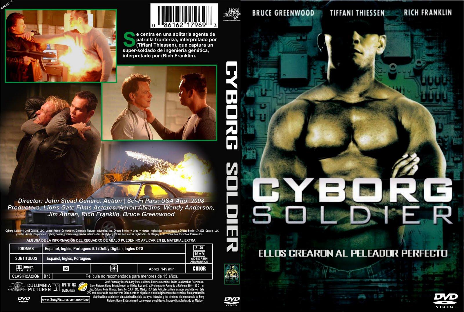 Cyborg soldier movie
