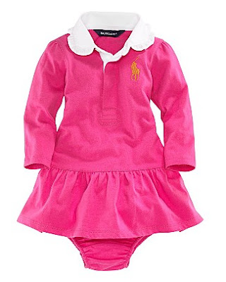 , To Die For Ralph Lauren Baby Kendra Rugby Dress for Infant Girls