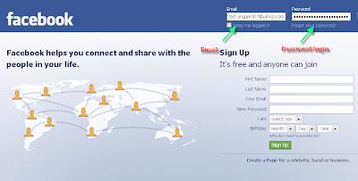 mengetahui password facebook teman